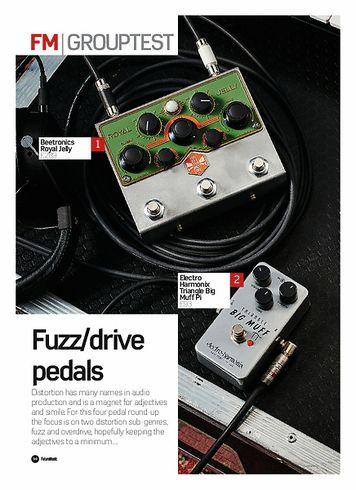 Future Music Fender The Pelt