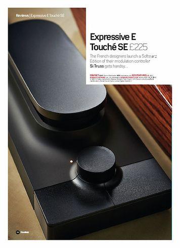 Future Music Expressive E Touché SE