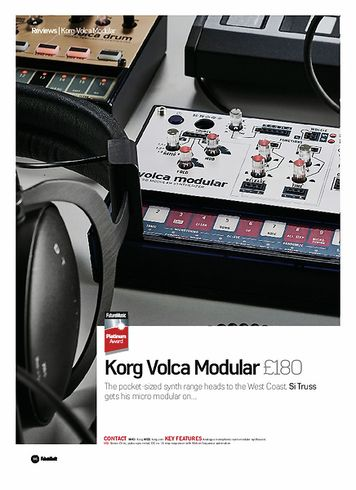Future Music Korg Volca Modular