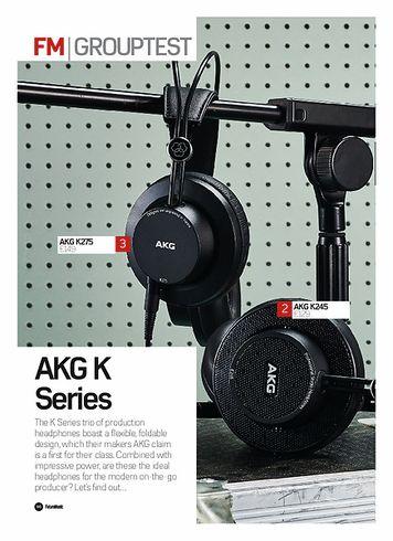 Future Music AKG K245
