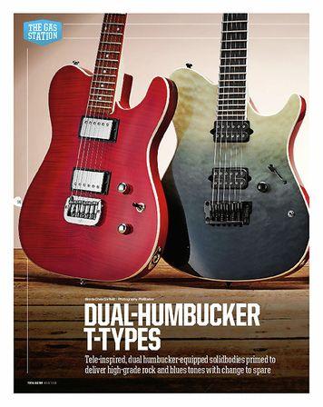 Total Guitar Fender Player Telecaster HH