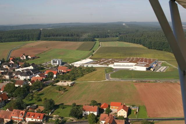 Neubau Versorgungslager