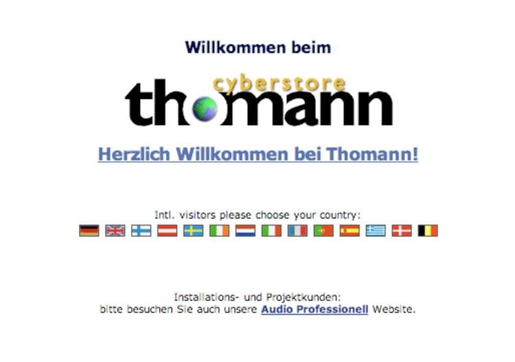 Neuer Online-Store