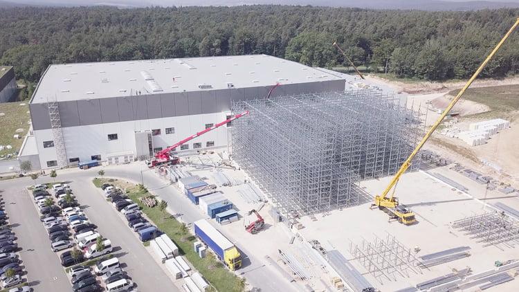 Neues Logistikzentrum