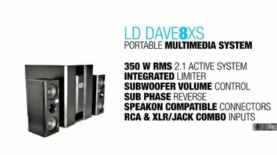 LD Systems Dave 8 XS Deutsch