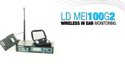 LD Systems MEI100G2 Wireless InEar System