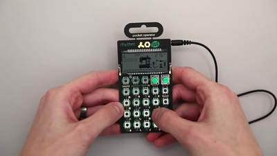 Teenage Engineering PO-12 rhythm
