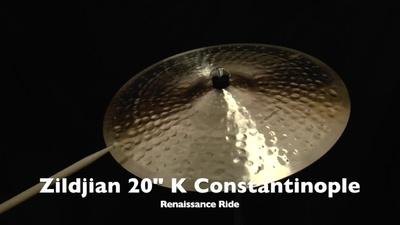 Zildjian 20 K Constantinople Serie Renaissance Ride